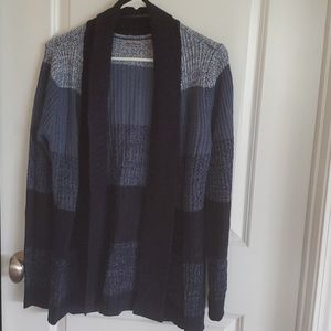 Womens Blue Cardigan